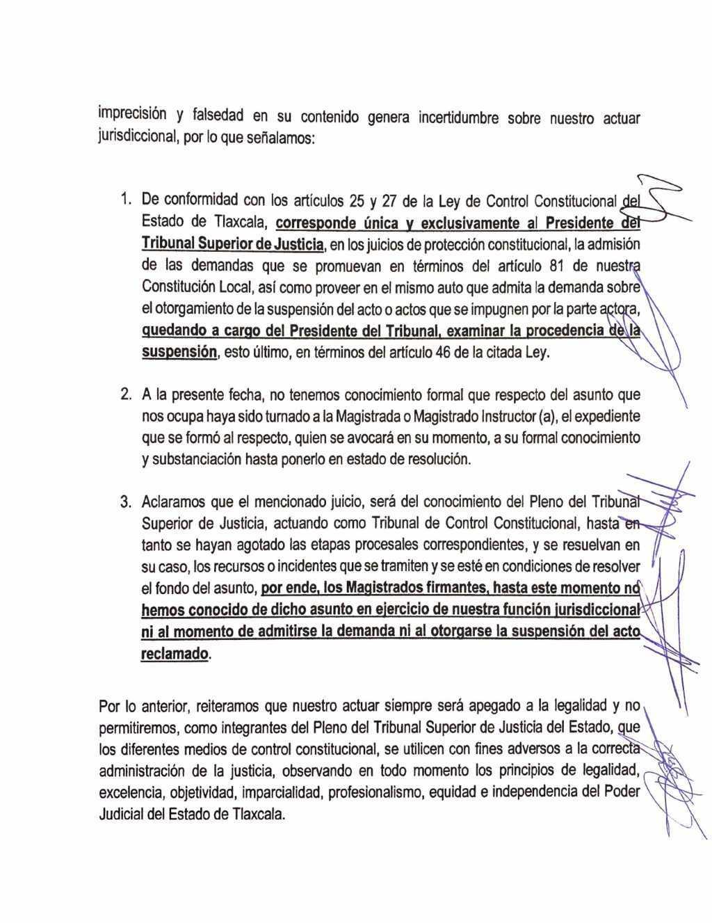Magistrados del TSJE no se han pronunciado por el caso del presidente de la CEDH