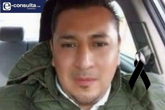 Muere hijo de Humberto Vega por COVID-19 en Chiautempan