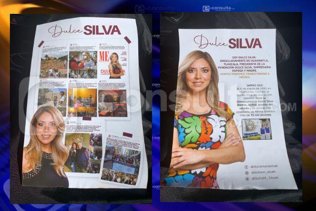 Inicia una descarada campaña de Dulce Silva en Tlaxcala