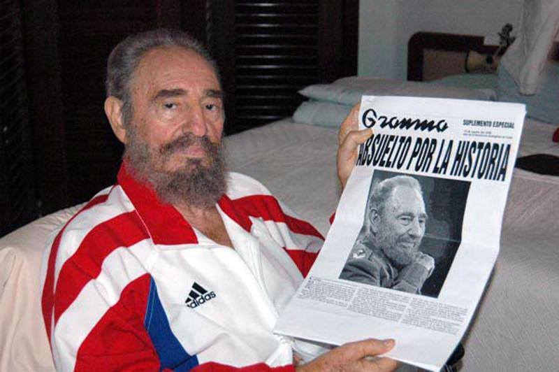 Fallece a los 90 años de edad el expresidente cubano Fidel Castro