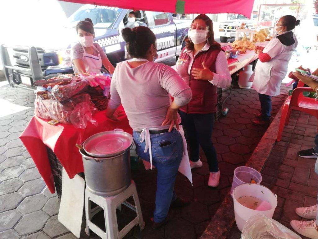 Mujeres emprendedoras volcán su apoyo a Gabriela Brito Jiménez