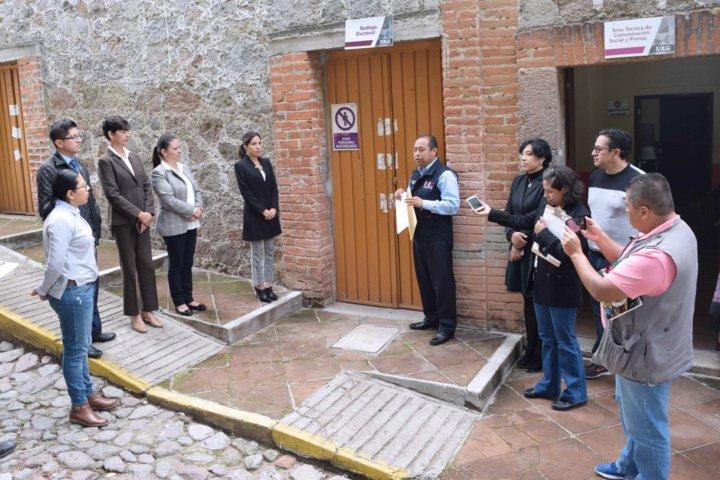 Entrega ITE a Conaliteg 4.5 Toneladas de papelería electoral para destrucción