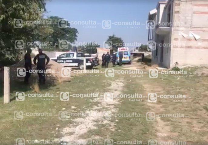 Hallan cuerpo de un hombre presuntamente asesinado en Yauhquemehcan