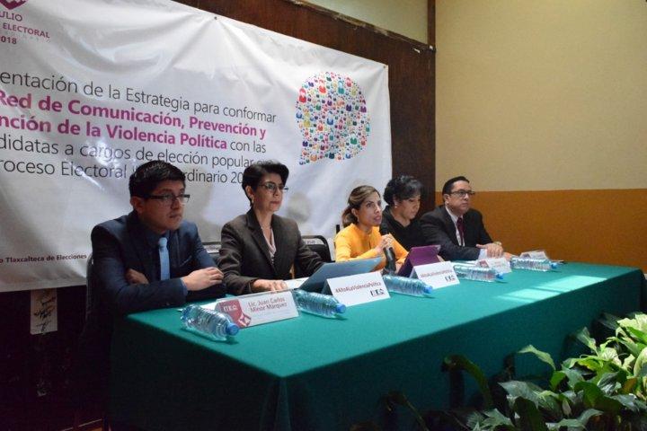 Presenta ITE estrategia de prevención y atención a violencia contra candidatas