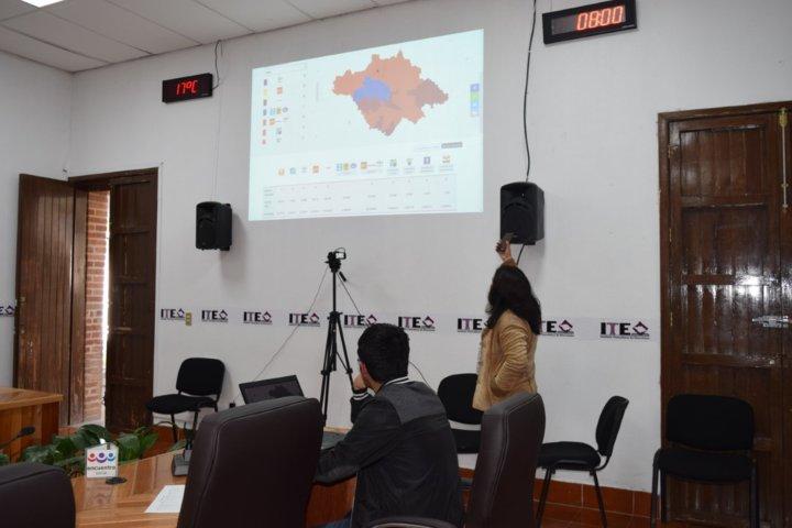 Recibe ITE 100% de paquetes electorales de la jornada local