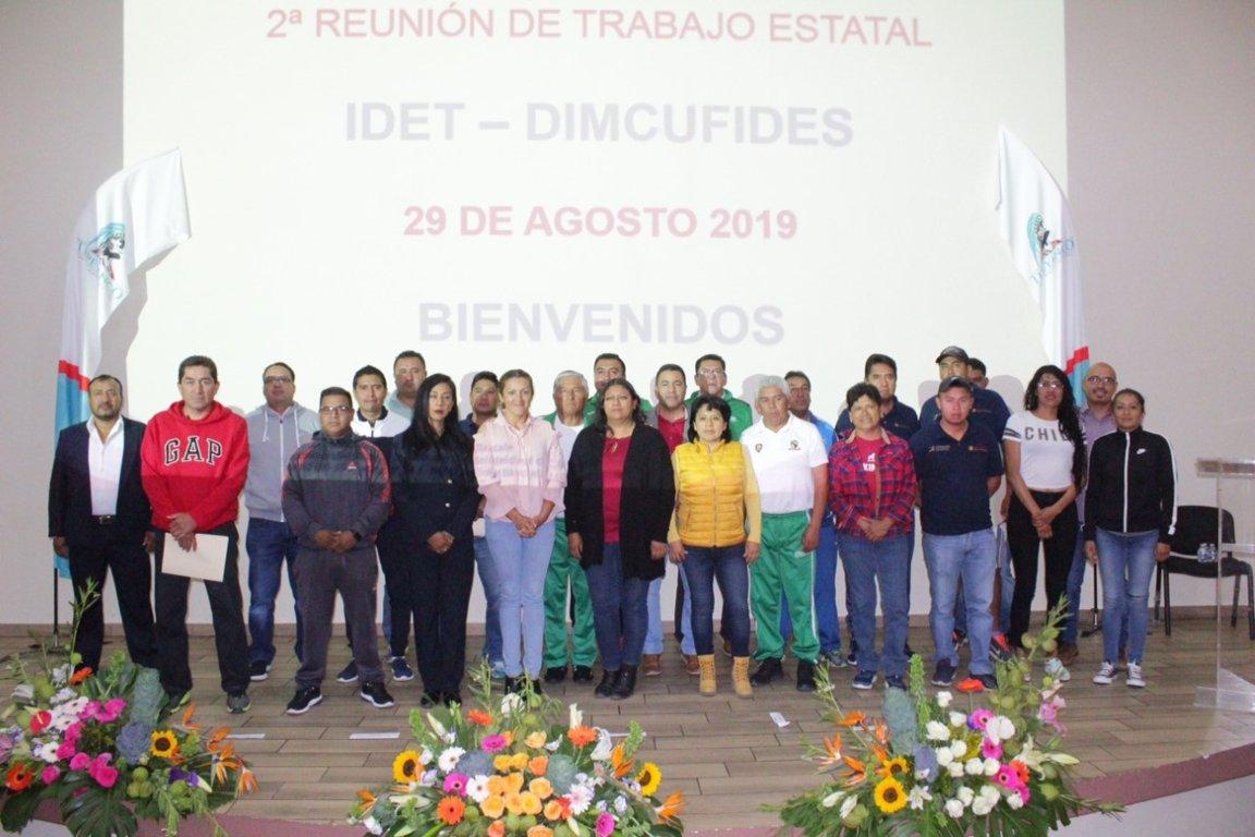 Se reúne Idet y directores municipales del deporte