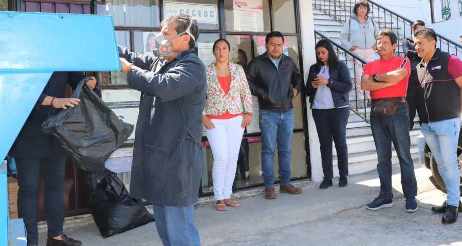 Destruyen en Tlaxcala más de 11 mil formatos y CPV del Primer Trimestre de 2020