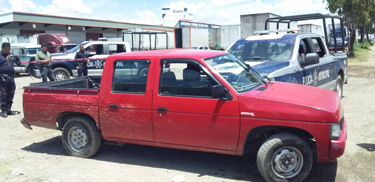 Policía municipal de SPM frustra robo de una camioneta hay un detenido