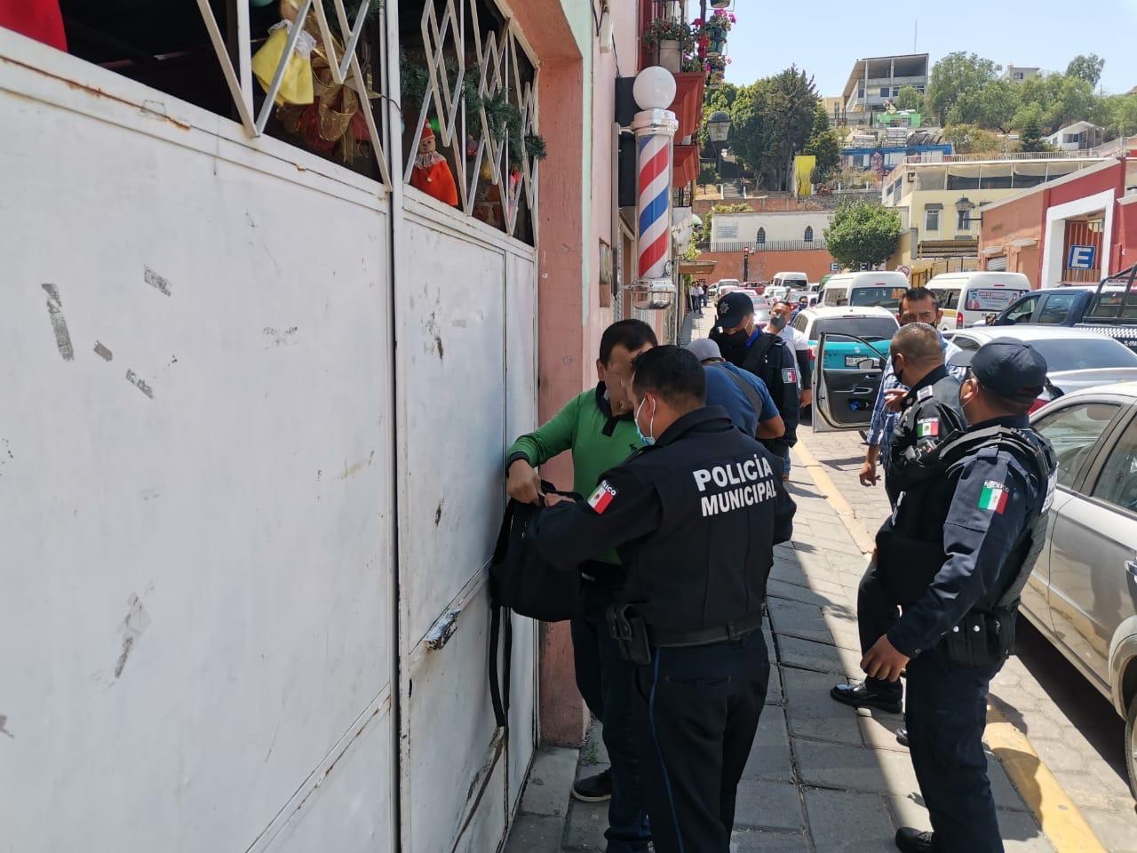 Detiene policía capitalina presuntos delincuentes en la ciudad