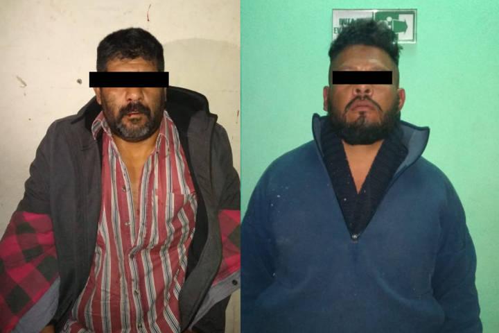 Policías municipales en persecución detienen a presuntos ladrones de taxi
