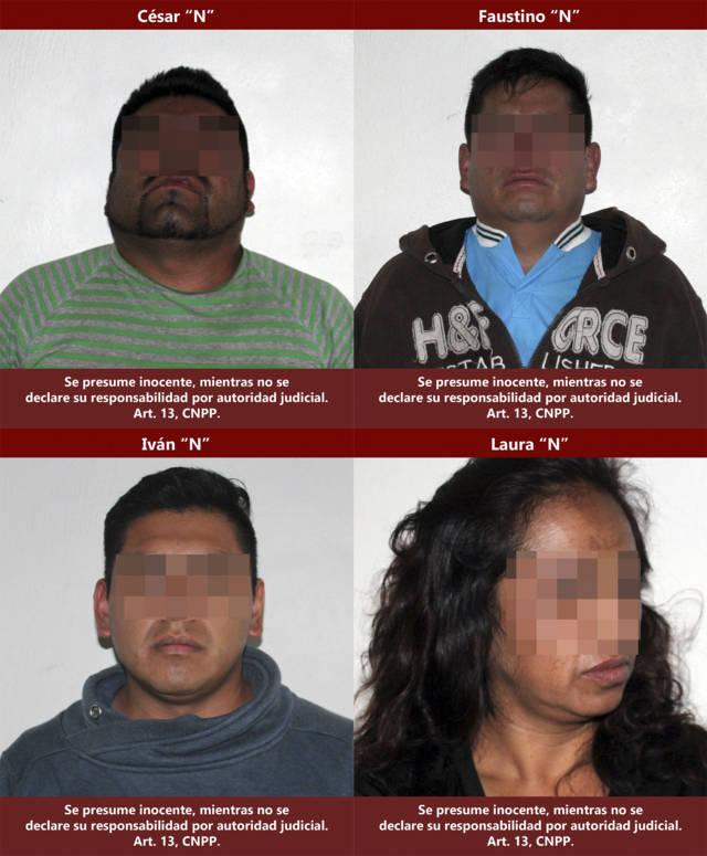 Detienen a cuatro personas por realizar disparos en la Magdalena Tlaltelulco