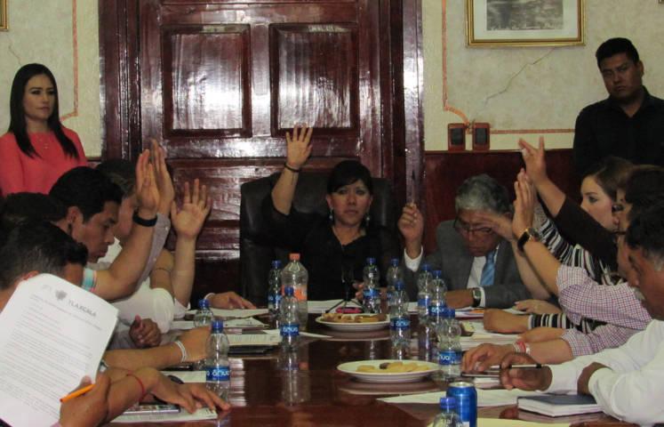 Avala Cabildo de Tlaxcala adquirir deuda por 30 millones de pesos