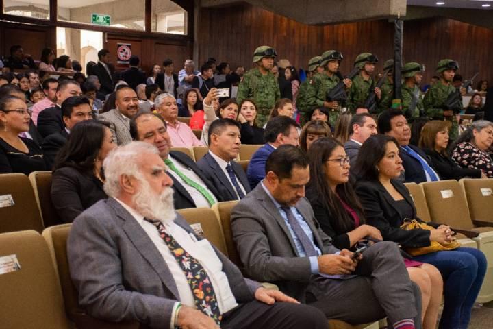 Badillo Jaramillo presente en la develación de la placa de los 500 años de mestizaje