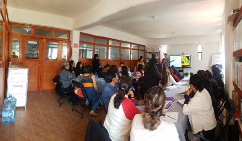Imparten taller para la inclusión de niñas y niños con discapacidad