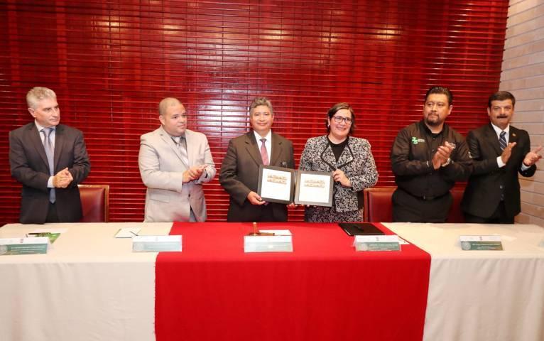 Canceló Rector UAT timbre postal conmemorativo al 25 aniversario de PROFEPA