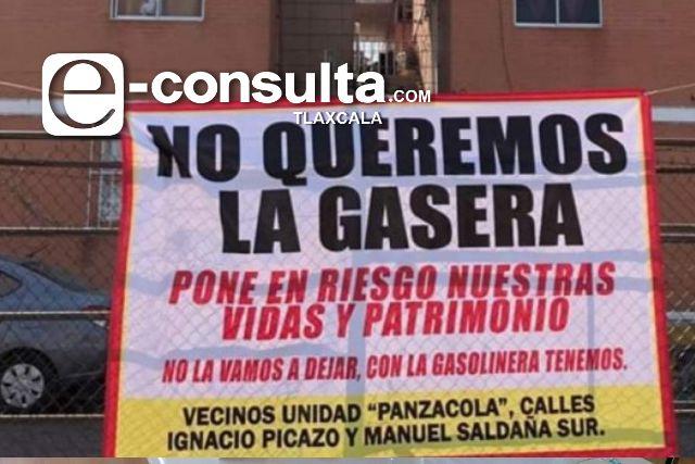 Reviven conflicto sobre la instalación de una gasera en Chiautempan