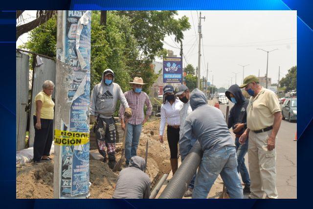 Inician obra de drenaje pluvial en Zacatelco