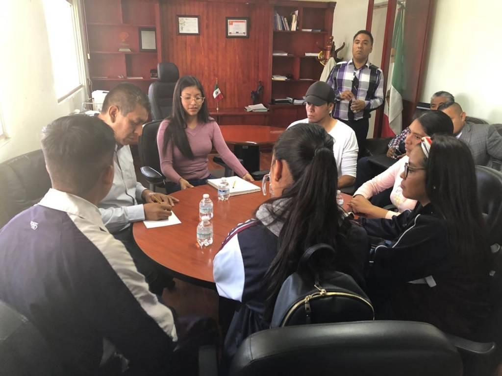 Atiende CECyTE a  estudiantes adheridos a la FNERRR
