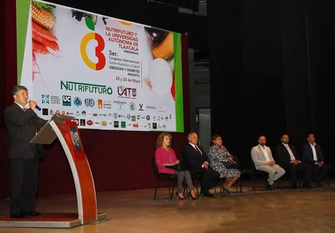 Se verifica en la UAT el 3er. Congreso internacional sobre nutrición y salud