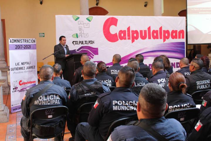 Policías municipales se actualizan sobre Principios básicos de los Derechos Humanos