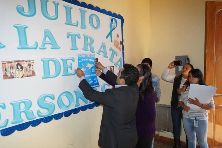 Calpulalpan se suma al Día Mundial de la Trata de personas