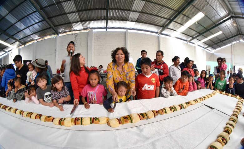 Disfrutaron infantes Día de Reyes Magos en comunidades de la capital