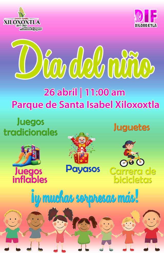 Pérez Juárez alista el Día del Niño para el 26 de abril