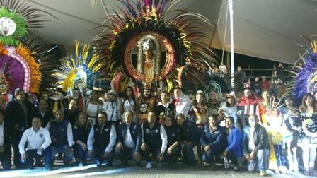 Se engalana Yauhquemehcan con Noche Mágica del Huehue