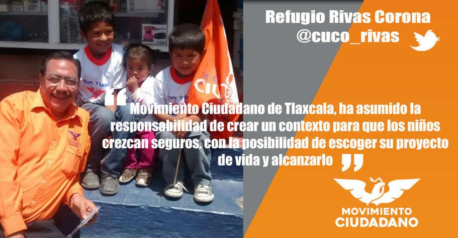 La esperanza de Tlaxcala son sus niños: Movimiento Ciudadano