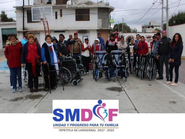 Ciudadanos de Lardizábal se benefician con aparatos funcionales