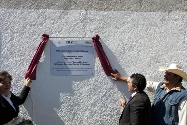 La comunidad de Díaz Ordaz la certifican como Comunidad Saludable