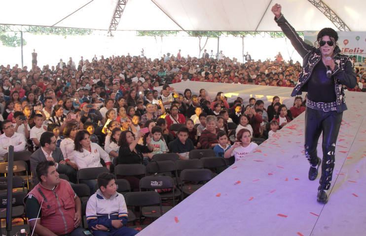 Celebran DIF y SEPE a infantes tlaxcaltecas con show musical