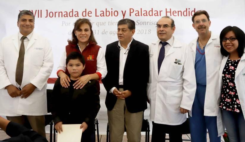 Encabeza Sandra Chávez inicio de Jornada De Cirugía De Labio Y Paladar Hendido