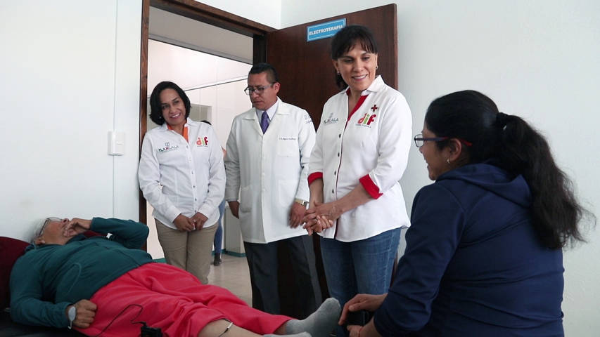 Supervisa Sandra Chávez Ruelas UBR de Calpulalpan