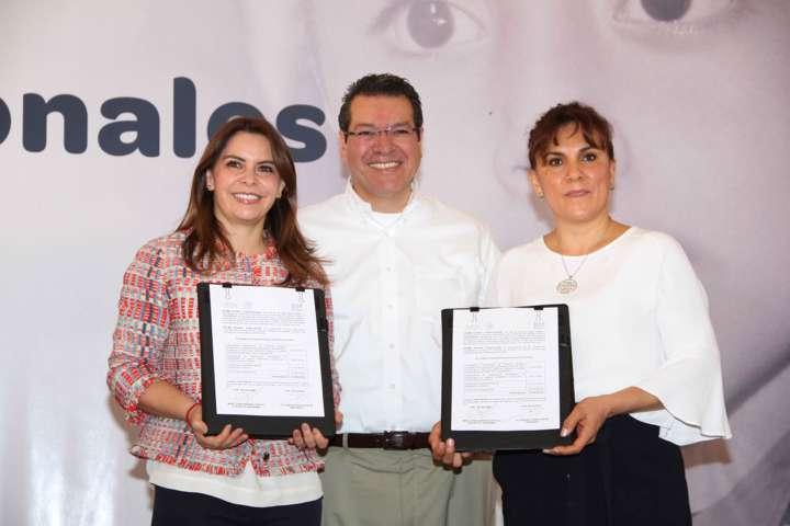 Firman DIF Nacional y Estatal convenio de colaboración