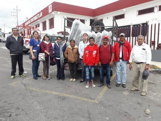 El DIF municipal entrega colchones a enfermos renales de 7 comunidades