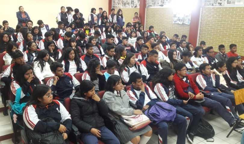 Concientiza comuna capitalina a estudiantes en tema de Derechos Humanos