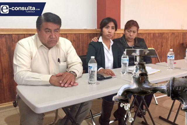 Ciudadanos de Tlaltelulco están hartos del Picapiedra; hay escasez de agua