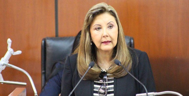 Iniciativas de Guadalupe Sánchez en su mayoría contra la trata de personas
