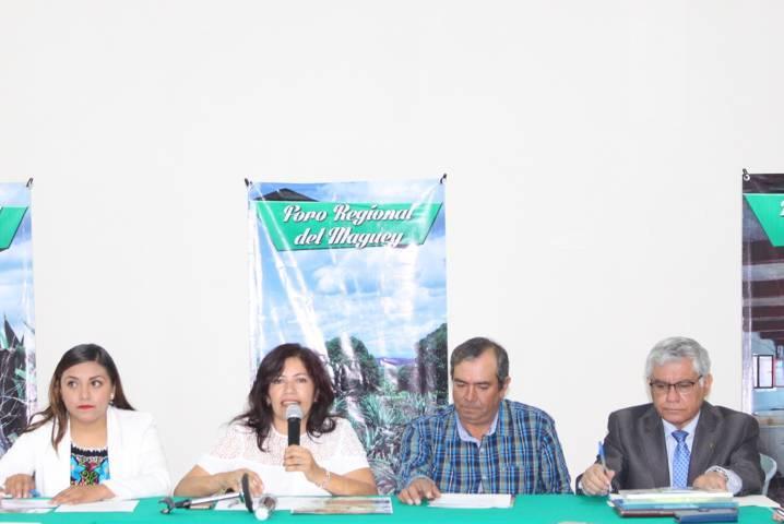Anuncian realización de Quinto Foro Regional del Maguey