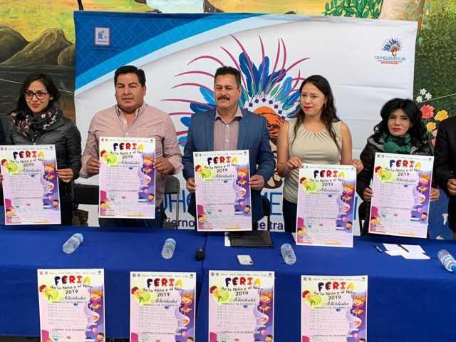 Invita Congreso a la feria estatal del niño en Yauhquemehcan el próximo sábado y domingo