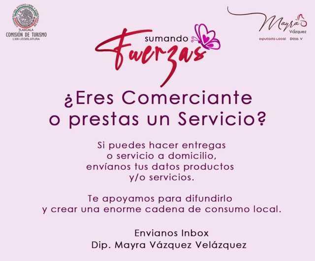 Promueve Mayra Vázquez Campaña De Consumo Local