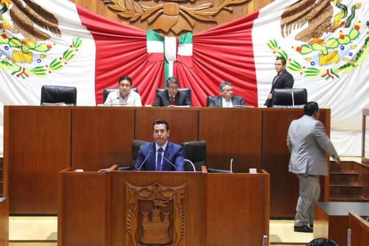 Se adhiere Congreso a acuerdos de congresos de Morelos y Michoacán