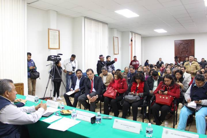 Se reúne Comisión de Finanzas con presidentes para integrar Presupuesto Participativo