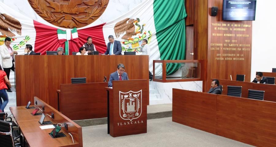 Propone Arnulfo Arévalo reformas a la Ley Orgánica y Reglamento Interior del Congreso