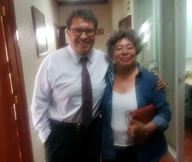 Floria María Hernández se reúne con jefe de la Delegación Cuauhtémoc