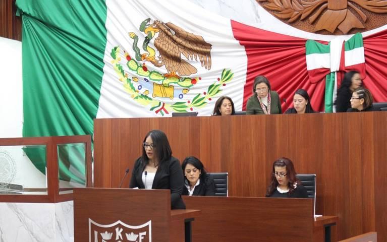 Presenta Laura Flores iniciativa para crear Ley De Fiscalización Y Rendición De Cuentas