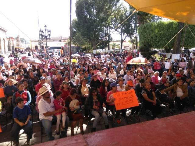 En Tlaxco le exigen a la Michaelle Brito se pronuncie a favor de la Alerta de Género