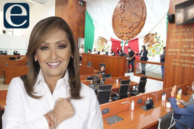 Diputados emiten declaratoria de gobernadora electa a favor de Lorena Cuéllar