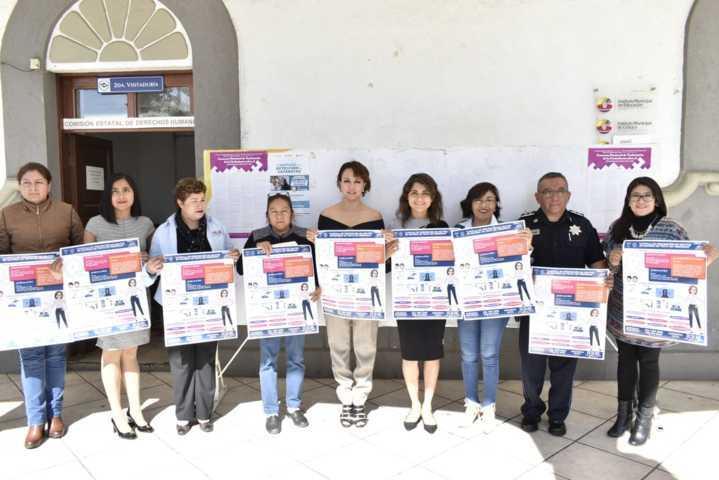 Presentan en Zacatelco campaña de prevención de delitos relacionados con trata de personas